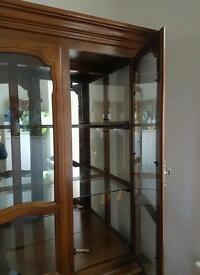 Full Display Cabinet Varnished