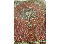Full size old style rug or carpet