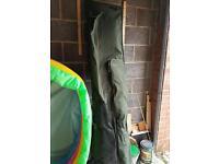 Carp fishing nash rod bag