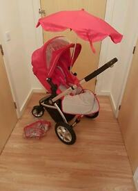 Mothercare red My 4 pram and pushchair seat