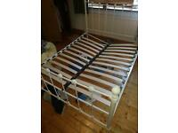 Free double bed frame - needs a bit of TLC