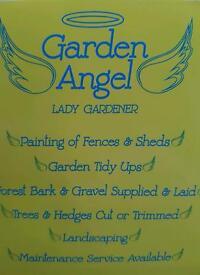 GARDEN ANGEL LADY GARDENER