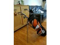 Child's Hippo Golf Clubs, ideal age 8-12
