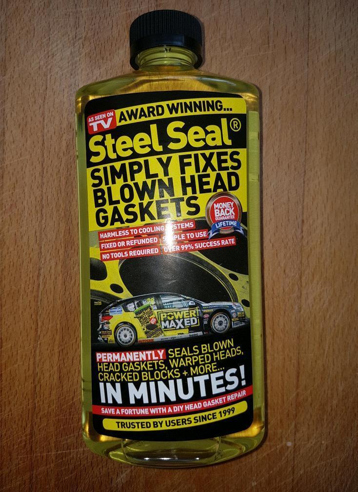 Bottle of Steel seal (unopened)