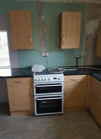 Experienced kitchen fitters!