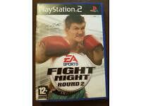 Fight night round 2 playstation 2
