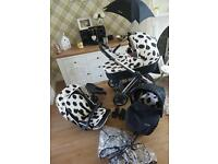 Babystyle Oyster 3in1 pushchair smoke&pet free