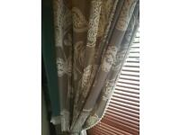 Next curtains 229x229cm with 2 cushions
