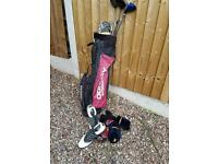 Golf clubs with Ping driver