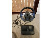 Logic3 PlayStation steering wheel