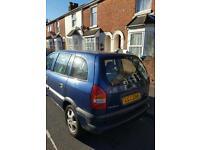 Vauxhall zafria 1.6 SWAP