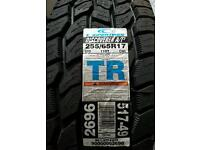 255/55R17 Mud and Snow Tyres