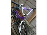 Girls magna bmx 20inch wheels