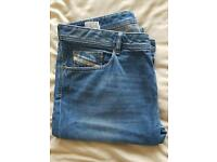 Diesel jeans 38w 34leg