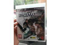"""PS3 Gane """"Space Marine """" brand new , unopened"""