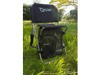 Wychwood Flow fishing seat bag stalking river shoulder roving chair