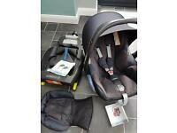 Maxi-Cosi CabrioFix car seat and EasyFix base