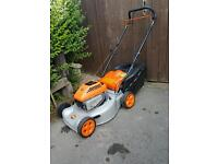 flymo quicksilver petrol mower self propelled
