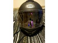 Vcan flip up helmet with Bluetooth