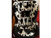 britax hi line car seat in camooflage 9+months (sold)