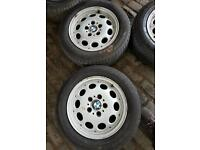 Bmw z3 16 inch genuine alloy wheels and tyres