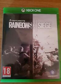 Rainbow seige xbox one