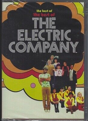 The Best of The Best of THE ELECTRIC COMPANY (DVD, 5 TV Episodes, 2006) - NEW (The Best Tv Company)