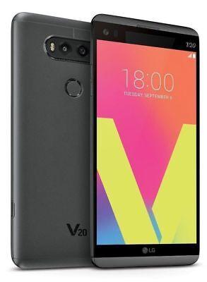 LG V20 H918 - 64GB - Titan (T-Mobile) 4G LTE Android Smartphone Dual Camera