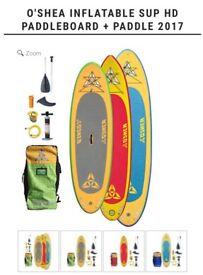O'Shea 9'4 inflatable paddleboard .