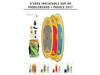 O'Shea 9'4 inflatable paddleboard .