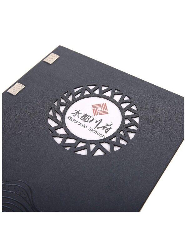 (30)A4 Menu Cover/wine List With Logo