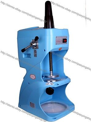 Commercial Electric Auto Snow Ice Shaver Ice Cream Shaving Maker Machine Crusher