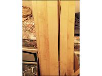 14 square meters Westco beech birch light wood laminate wooden flooring