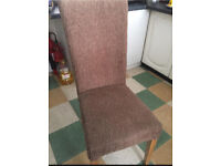 Collection only l36 x 4 chairs