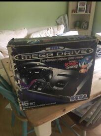 Vintage Sega Mega drive