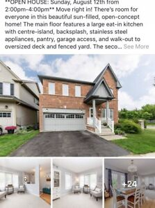 Gorgeous 4 bedroom 4 bath house in North Whitby