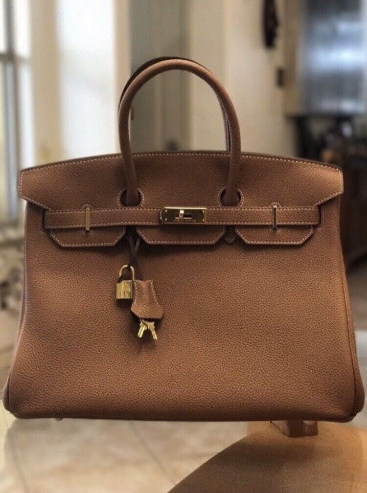 3f9216ace22ce9 New Hermes Birkin Togo leather handbag bag Chanel Dior Fendi LV D&G Zara