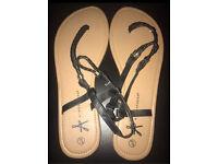 Ladies sandals size 8