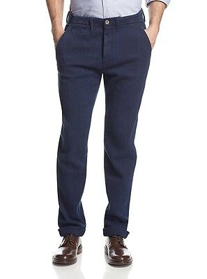 Levi's Made&Crafted Drill Slim Fit Chino Men's Straight Leg Pants $285 NEW 34x32