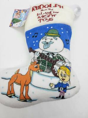 Rudolph and the Island of Misfit Toys Christmas Stocking NWT