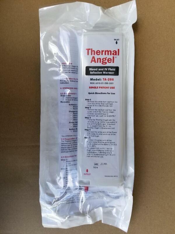 10 pcs Thermal Angel TA-200 Blood IV Fluid Infusion Warmer NSN 6515-01-500-3521