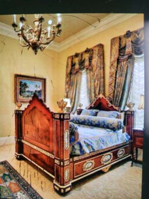 antique Louis XV French Bed