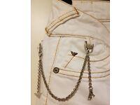 Emporio Armani Women's Jeans White Size 26