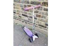 Maxi micro scooter purple in good condition