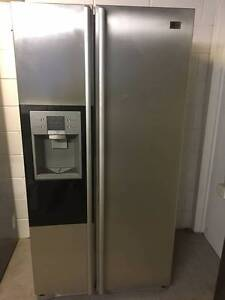 LG steel 567L Fridge and Freezer /12 Months warranty C006 Coopers Plains Brisbane South West Preview