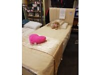 A fantastic single bed, with mattress, in good condition with headboard and drawers