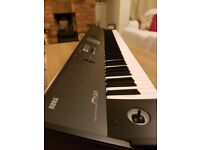Last chance for a bargain! Korg M50 Workstation (88 weighted keys) complete with case, pedal, manual