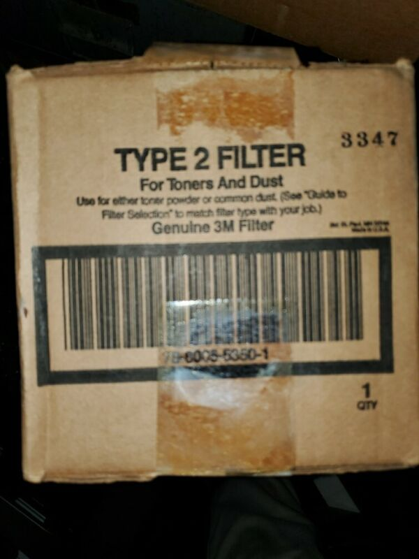 Brand New Type 2 Filter for 3M model 497 Electronics Service Vacuum