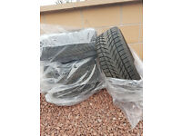 Winter tyres x4 205/55/16