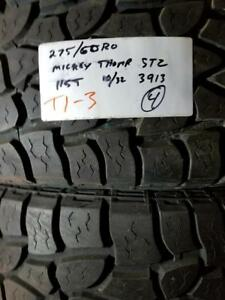 RITC ALL SEASON .. T1  3 .. 275/60R20  115TUSED  MICKEY THOMPSON STZ10/32  3913  4$925.00